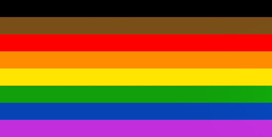 Adding black and brown to the pride flag does nothing