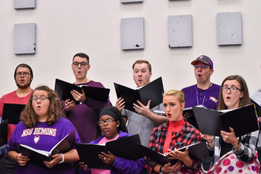 Chamber and Concert choirs to perform