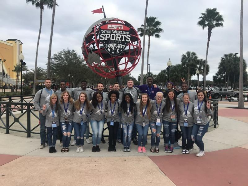 NSU Cheerleading competes at Disney