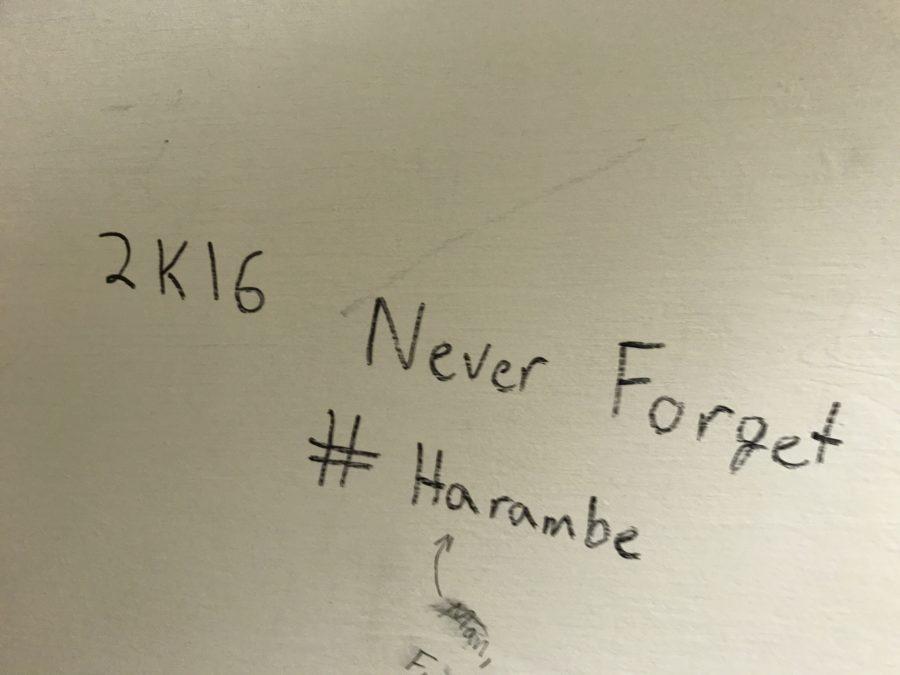 SATIRE: Art curator reviews graffiti in campus bathrooms