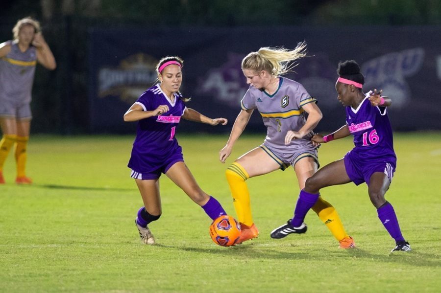 Lady Demons play last home game, look to enter conference tournament