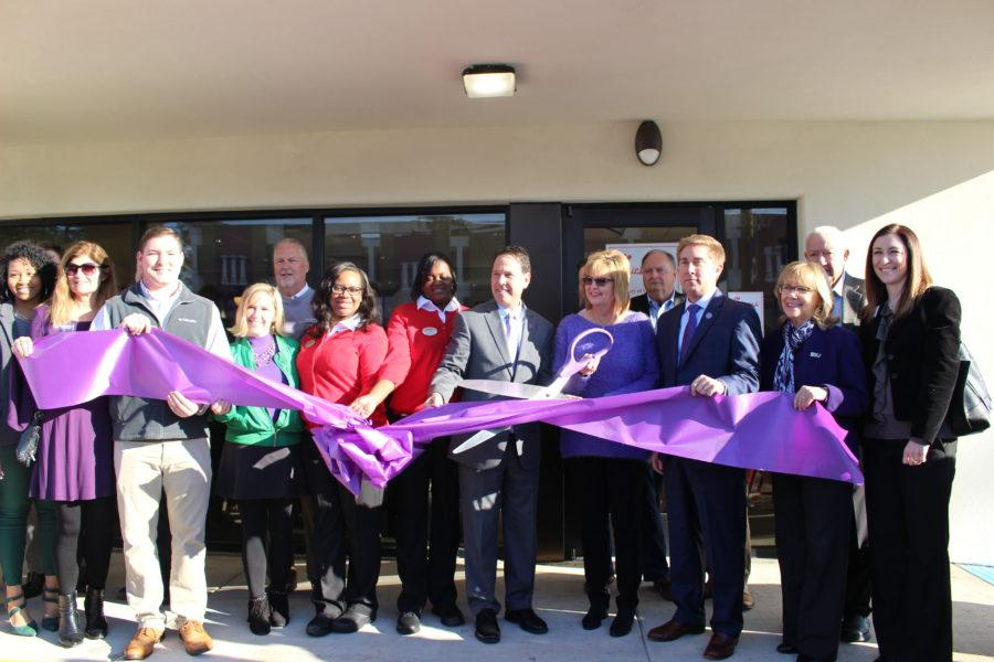 NSU officials celebrate Chick-fil-A opening day