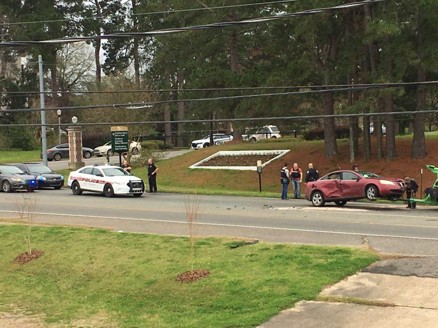 Questions remain after Tuesday's car wreck on University Parkway