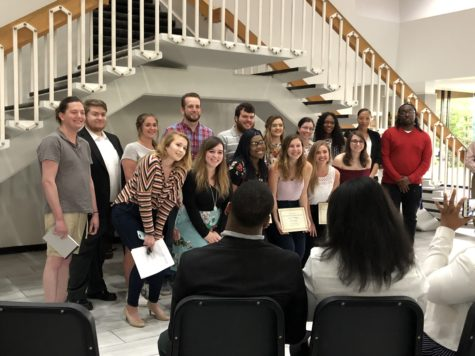 New Media Student Showcase honors students at reception