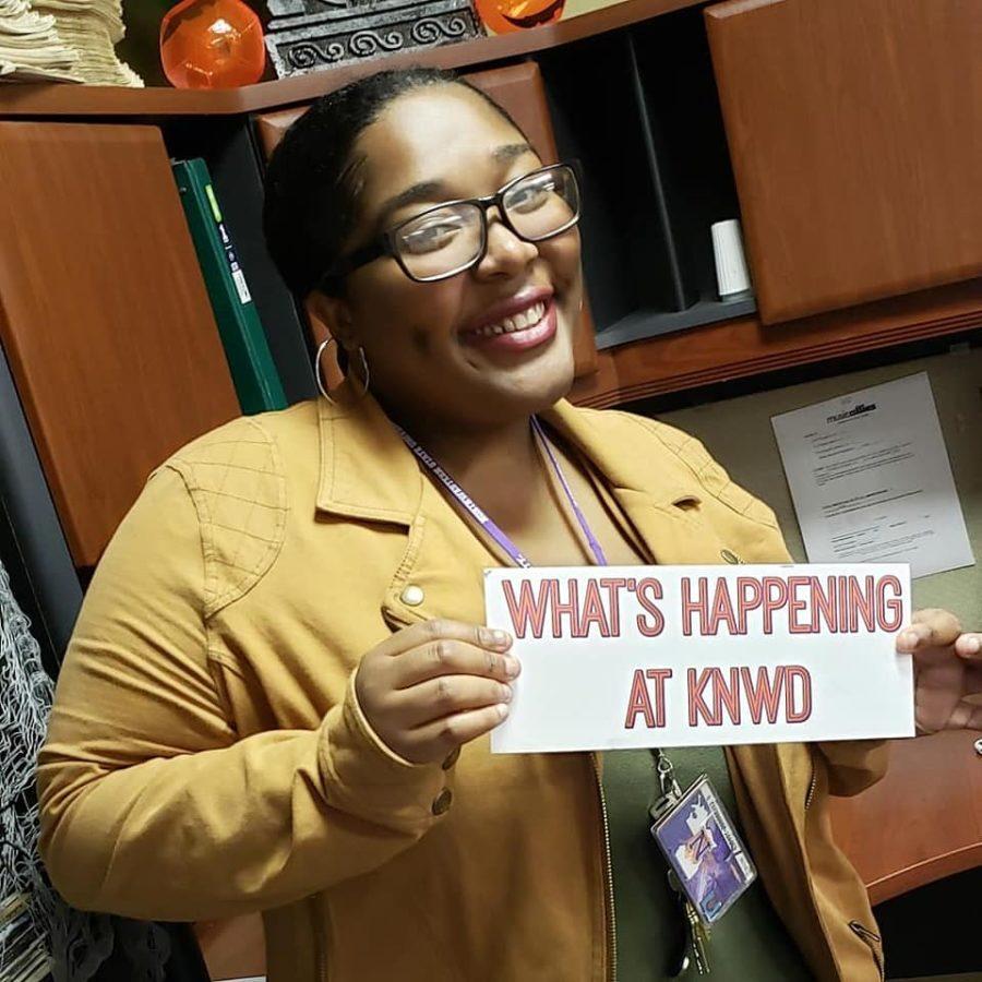 Student spotlight: Cinnamon Player, KNWD's first black, female GM