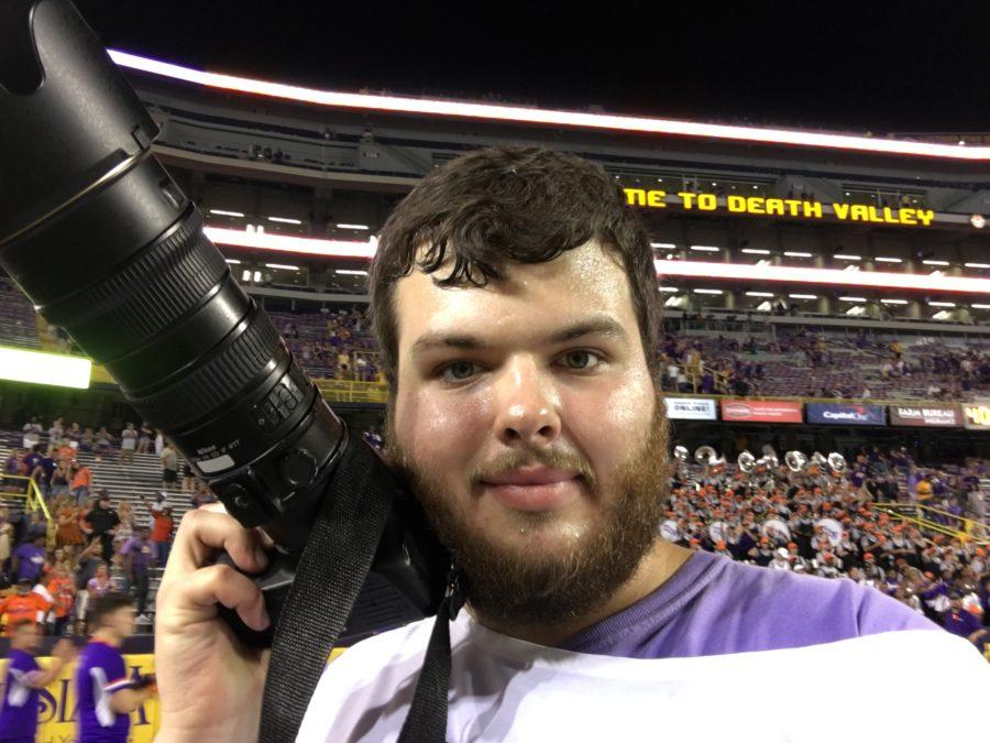 Student spotlight: Christian Boudreaux, the student that captures NSU's most loved memories