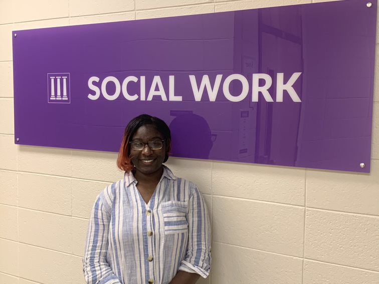 Student Spotlight: Makayla Lacy is a helping hand