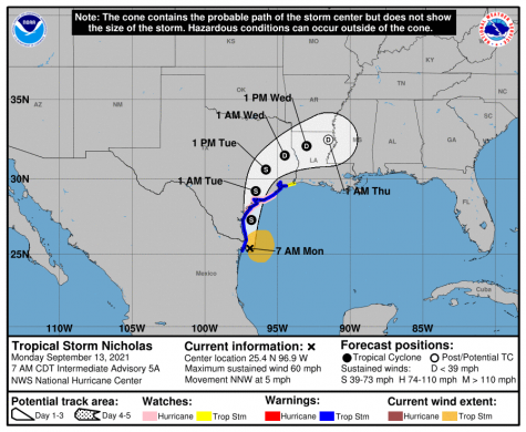 Ross said that central Louisiana should expect areas of heavy rainfall, with the Natchitoches area forecasted to receive three to four inches of rainfall, with some areas possibly getting six inches of rainfall through Friday morning.