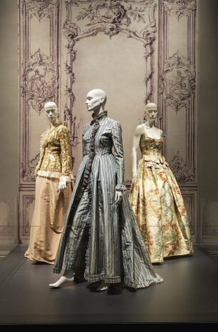A contrast of how fashion has transformed into something new over the decades.