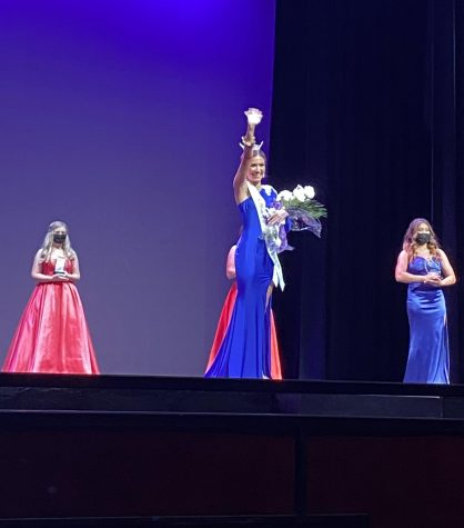 Mackenzie Scroggs, a sophomore dance major, was crowned the 2021 Lady of the Bracelet.