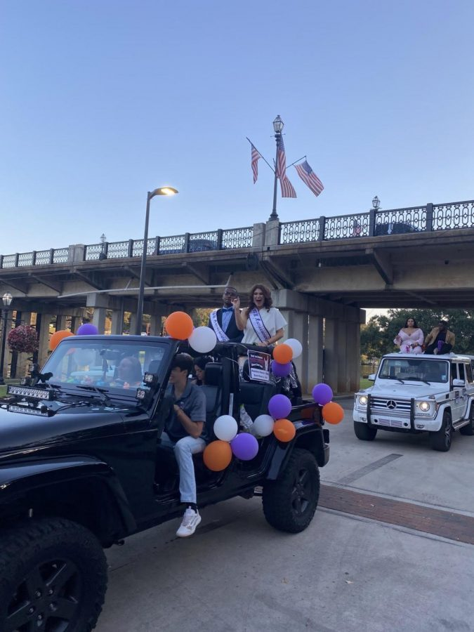 The homecoming parade came as the finishing event of homecoming week before the game itself taking place on Oct. 23.