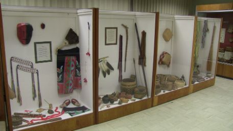 On the second floor of Kyser Hall a vast collection of history is on display. The Williamson Museum houses four walls of a wide variety of Native American artifacts and copies of historical items.